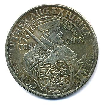Altdeutsche Münze Taler Dresden 1630 Sachsen Johann Georg I