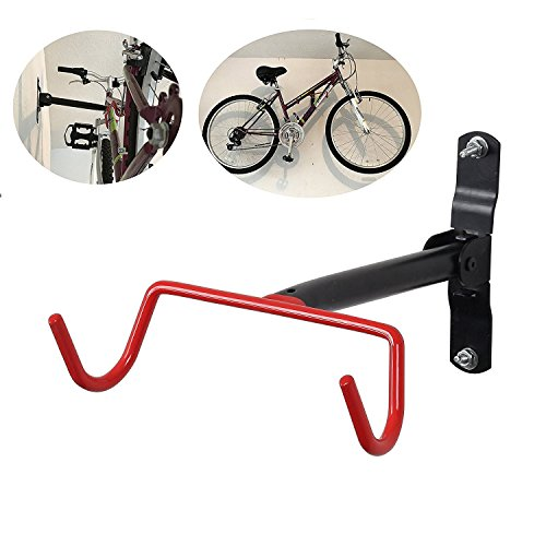 Steel Bicycle Storage Rack Wall Bike Mount Hanger Hook - 6