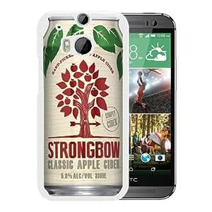 Popular Sale HTC ONE M8,Strongbow Classic Apple Cider White Unique Custom HTC ONE M8 Phone Case