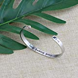 Inspirational Bracelets Funny Gift for Her Friend