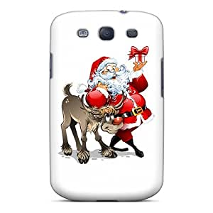 Cute High Quality Galaxy S3 Santa Claus Holidays Case