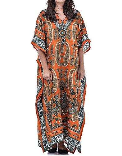 Orange Vestito Couture Donna Loire Pas UqOwFfgnC