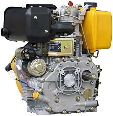Rotek refrigerado por aire 1-cilindro 4-tiempos 418ccm motor ...