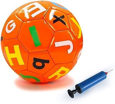 Aoneky Mini Balón de Fútbol con Bomba de Bola para Niños - Tamaño ...