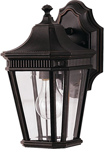 Feiss OL5400GBZ Cotswold Lane Outdoor Patio Lighting Wall Lantern, Bronze, 1-Light (7