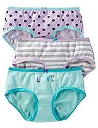 Girls Panties Size 2-12 - Pack of 3 - OshKosh Cotton Stretch Panties
