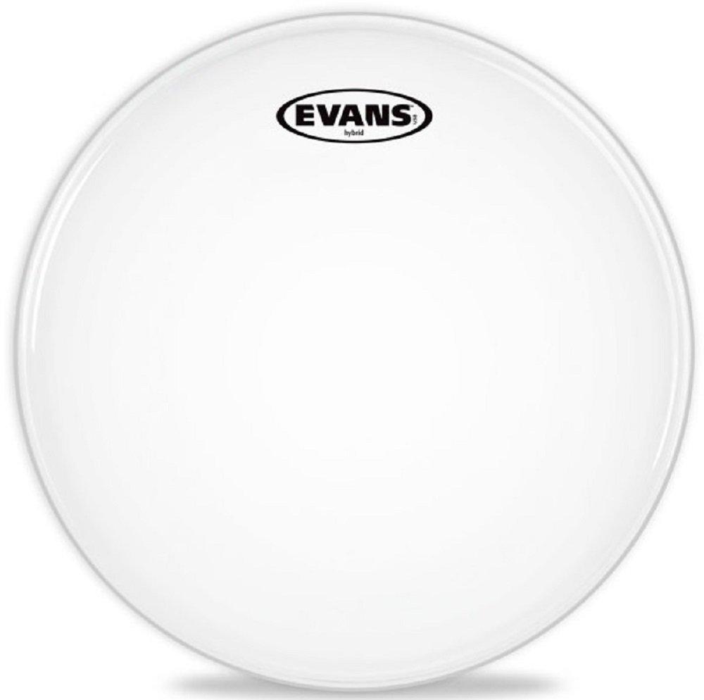Evans Hybrid Grey Marching Snare Drum Head, 14 Inch Evans Heads SB14MHG