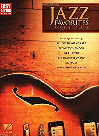 Amazon jazz favorites for easy guitar easy guitar with notes digital fandeluxe PDF