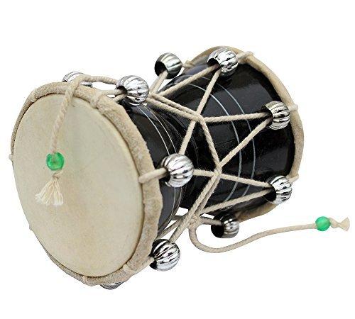 Damru damaru BIG SIZE DOBANI Damaru Damru Drum musical instrument DAMROO PERCUSSION INDIAN MUSIC INSTRUMENT or MONKEY DAMROO
