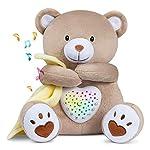 Sleep Soother Heartbeat Dreamy Bear, Baby Cry Sensor Lullabies