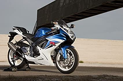 Amazon com: Blue w/ White Complete Fairing Injection for