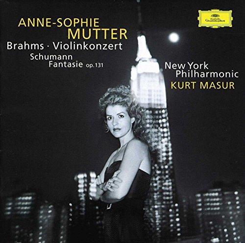 Brahms: Violin Concerto In D Major, Op. 77 / Schumann: Fantasy For Violin And Orchestra In C Major, Op. 131 (Best Violin Shop In New York)