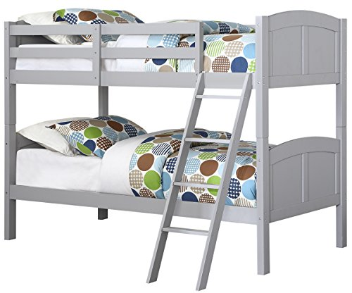 Angel Line Creston bunk bed, Gray