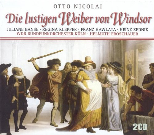 Die lustigen Weiber von Windsor (The Merry Wives of Windsor): Act III: Ihr Elfenm weiss und rot und grau (Chorus, Titania, Oberon, Elves, Hunter Herne, Whole Chorus, Falstaff, - Oberon's Wife