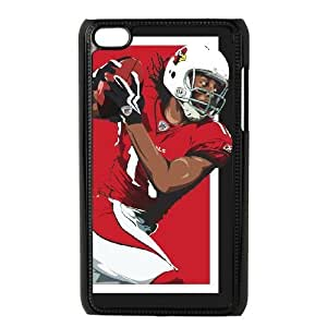 NFL iPod Touch 4 Black Cell Phone Case Arizona Cardinals QNXTWKHE0210 NFL Phone Case Cover Durable Design