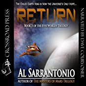 Return: The Five Worlds Trilogy, Book 3 | Al Sarrantonio