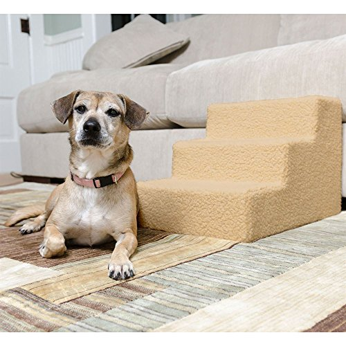 Discount Ramps Lucky Dog Furniture 3-Step Indoor Pet Stairs by Discount Ramps