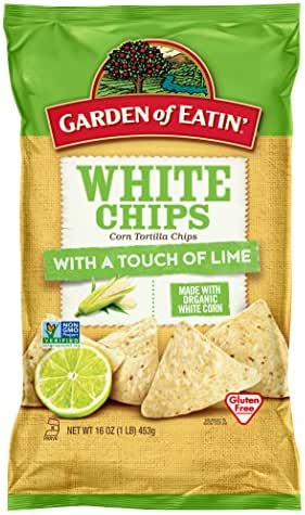 Tortilla & Corn Chips: Garden of Eatin' White Chips with a Touch of Lime