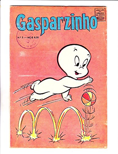 Original Ball Bouncing (Gasparzinho No 5 1968 -Brazilian Casper -