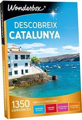 WONDERBOX Caja Regalo -DESCOBREIX Catalunya- 1.350 experiencias ...