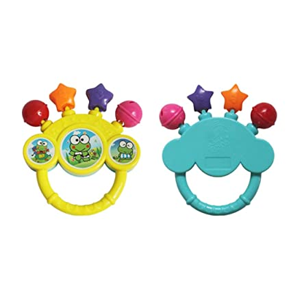 Christmas Gifts Jingle Hand Bells Newborn Toys Shaker Bell Ring for 0-12 Months