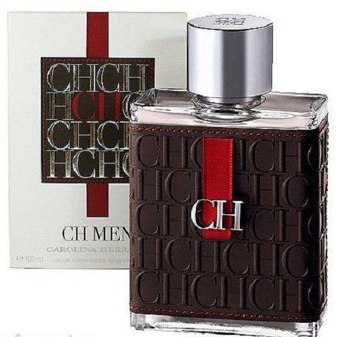 Ch By Carolina Herrera 3.3 Oz / 3.4 Oz ( 100 Ml ) EDT Spray MEN NEW in BOX Seal ()