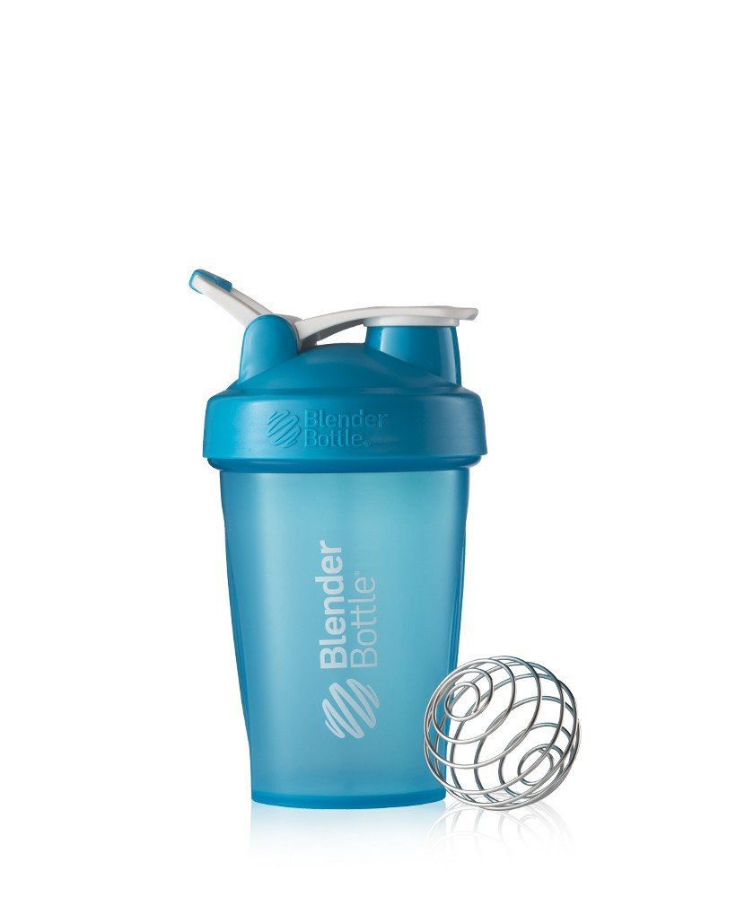 Blender Bottle Classic Loop Top Shaker Bottle, 20-Ounce, Aqua/Aqua