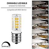 E17 LED Bulb,Microwave Oven Light Dimmable 5 Watt