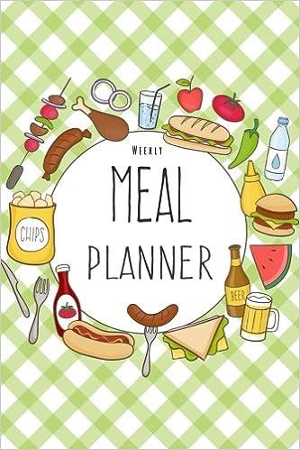 amazon com weekly meal planner 52 weeks food planner grocery list