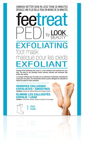 Masque Bar Exfoliating Foot Mask - 1 Pair, 0.23 Pound by masque BAR