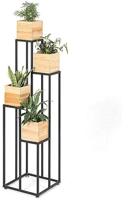 IDWOI Estantería para Plantas Soporte para Flores Soporte ...