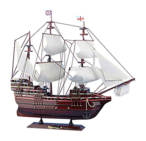 Hampton Nautical  Mayflower Sailboat, 20'' by Hampton Nautical