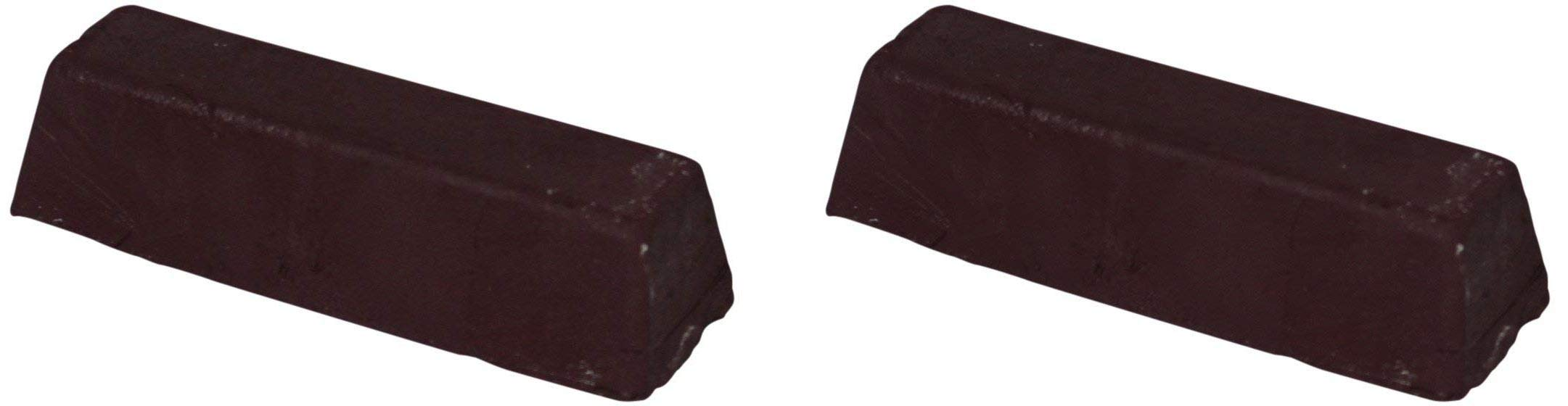 JacksonLea 47351SP Brown Buffing Compound, Grande Bar, 2'' Width x 2'' Height x 9'' Length (Twо Pаck)
