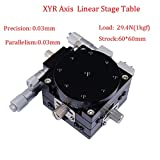 Precision XYR 3 Axis Manual Linear Positioning