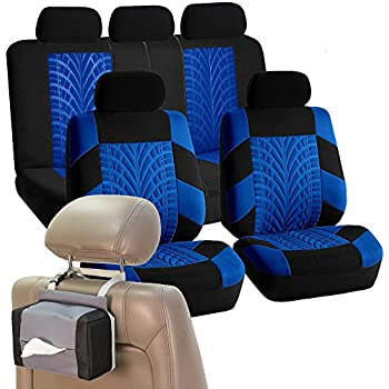 FH GROUP FB071115 Complete Set Travel Master Seat Covers Airbag Ready Rear Split