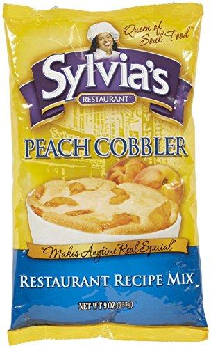 Sylvia#039s Peach Cobbler Mix 9 oz