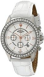 Rotary Women's ls00147/41 Analog Display Quartz White Watch
