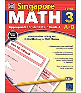 Singapore Math, Grade 4: Thinking Kids: 9781483813202: Amazon com: Books