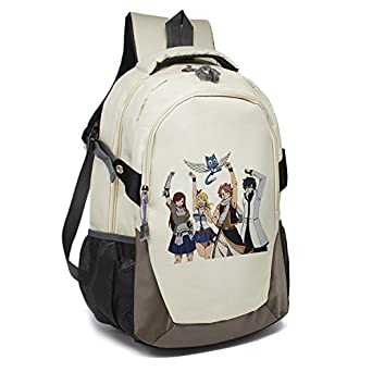 6964c0e1c0ee Amazon.com: YOYOSHome Anime Fairy Tail Cosplay Daypack Bookbag ...