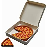 Pizza Queen Delicious Looking 18 Inch Doll Pepperoni Pizza. Pizza Has Cut Slice and Authentic Style Pizza Box. Great Food Accessories for American Girl Dolls Kitchen & Furniture