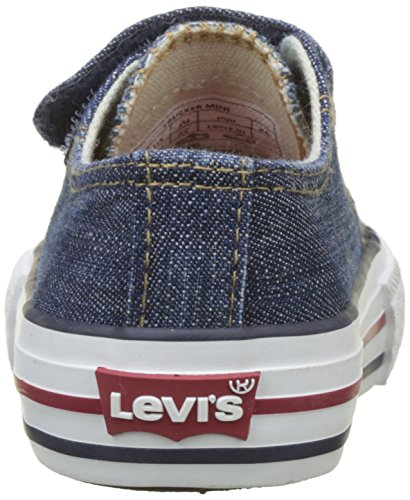 Enfant Mixte Mini Bleu blue Trucker Twill Kids Baskets Levi's wnEx0IXq0