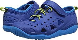 Crocs Unisex-kids Swiftwater Play Shoe K Sneaker, Blue Jean, 13 M Us Little Kid