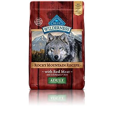 Blue Buffalo Wilderness Adult Rocky Mtn Recipes Red Meat - Grain Free 22 lb