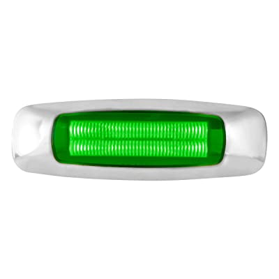 GG Grand General 74757 5 Inch Rect. Prime Green 4 Led Dual Function Int. Light: Automotive