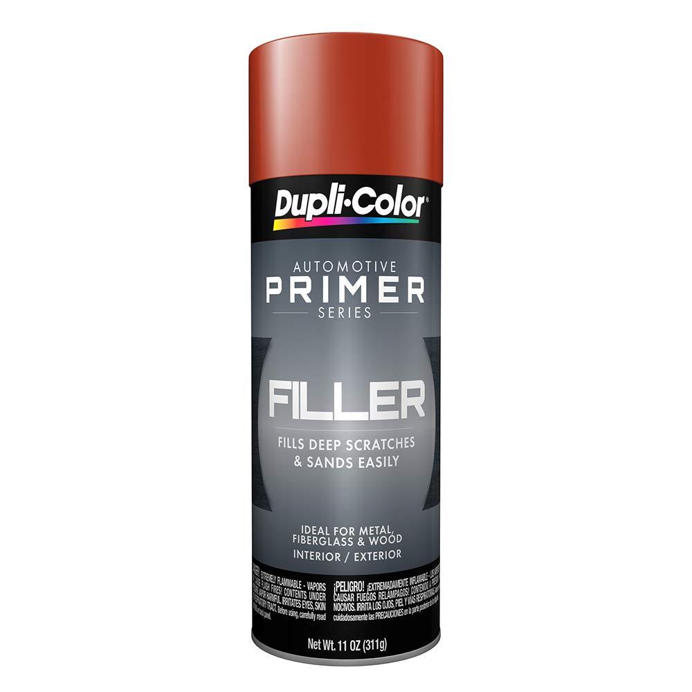 Dupli-Color FP102 Red 11 Ounce Oxide Filler Primer Aerosol, 6 Pack
