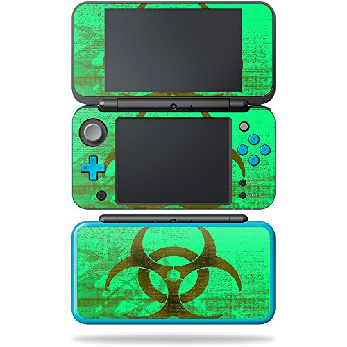 MightySkins Skin Compatible with Nintendo New 2DS XL - Biohazard | Protective, Durable, and Unique Vinyl Decal wrap Cover | Easy to Apply, Remove, and Change Styles | Made in The USA