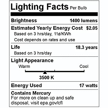 2 ft F17T8//841K T8-4100K Eiko 49577 800 Series Phosphors - 17 Watt Fluorescent Tube
