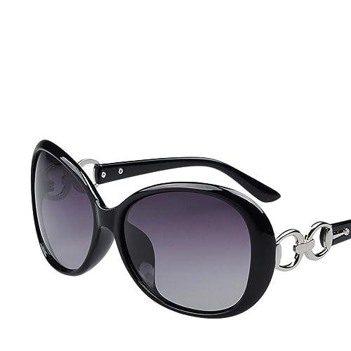 Las Mujeres De La Moda Caja Grande PC Marco TAC Lente Aviador Polarizado Gafas De Sol UV400