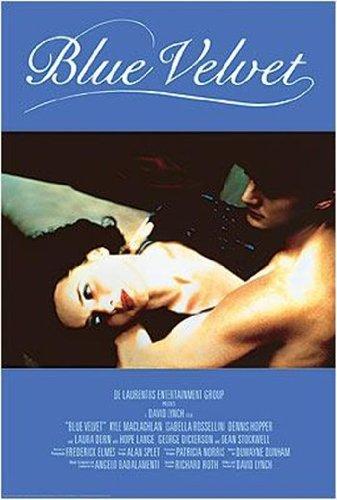 Blue Velvet - Movie Score Poster