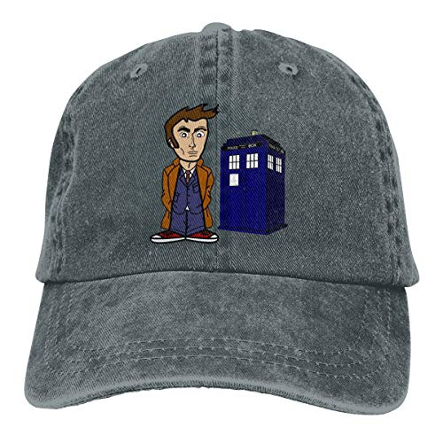 YY LING Doctor Who Adult Cowboy Baseball Caps Denim Hats for Men Women ()